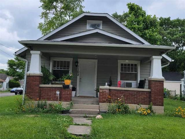 1102 Locust Street, Anderson, IN 46016 (MLS #21794282) :: The Indy Property Source