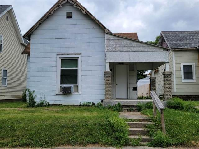 2214 Central Avenue, Anderson, IN 46016 (MLS #21794460) :: The Evelo Team
