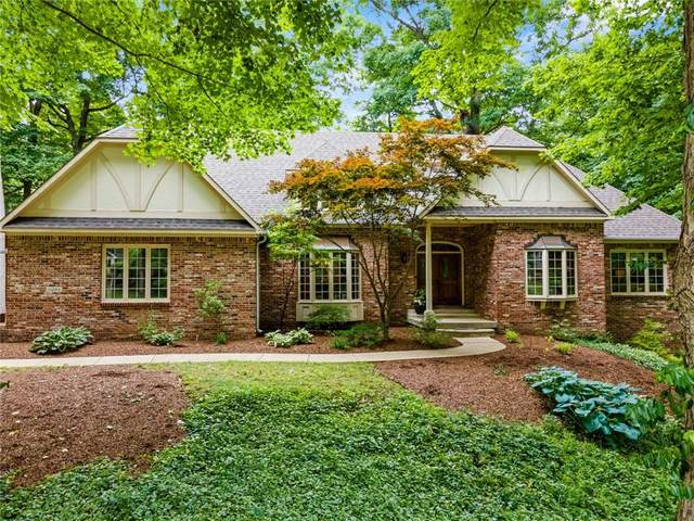 11224 Clarkston Road, Zionsville, IN 46077 (MLS #21794493) :: The Indy Property Source