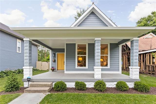 1126 Jefferson Avenue, Indianapolis, IN 46201 (MLS #21794497) :: The Indy Property Source