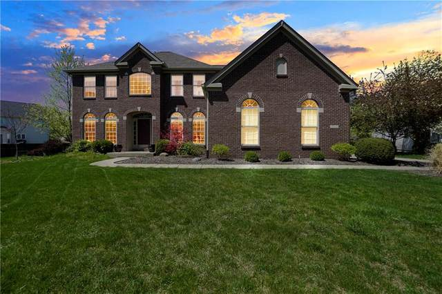 11002 Parkland Court, Fishers, IN 46037 (MLS #21794511) :: Mike Price Realty Team - RE/MAX Centerstone