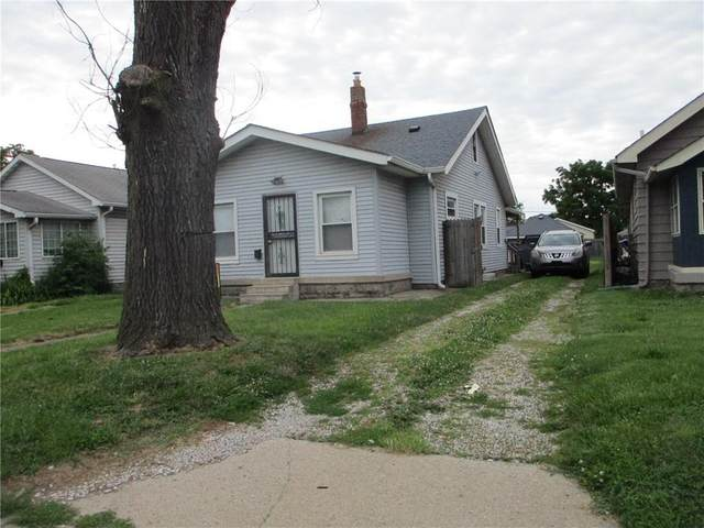 1738 E Raymond Street, Indianapolis, IN 46203 (MLS #21794524) :: Mike Price Realty Team - RE/MAX Centerstone