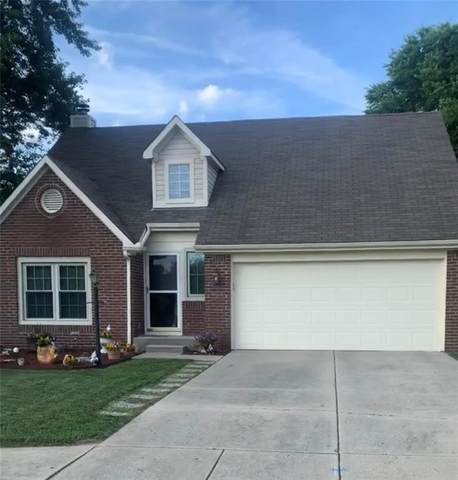 1668 Park Ridge Way Wa, Indianapolis, IN 46229 (MLS #21794554) :: Mike Price Realty Team - RE/MAX Centerstone