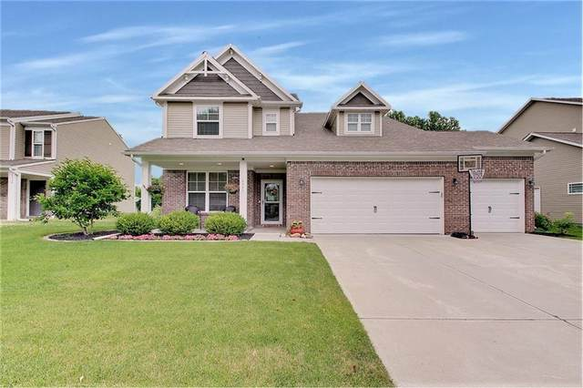 8340 Flat Branch Drive, Indianapolis, IN 46259 (MLS #21794758) :: Mike Price Realty Team - RE/MAX Centerstone