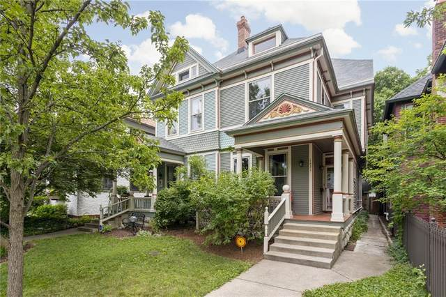 1421 N New Jersey Street, Indianapolis, IN 46202 (MLS #21794840) :: Heard Real Estate Team   eXp Realty, LLC