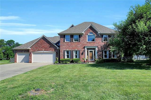 7440 W White Oak Drive, New Palestine, IN 46163 (MLS #21794897) :: Mike Price Realty Team - RE/MAX Centerstone