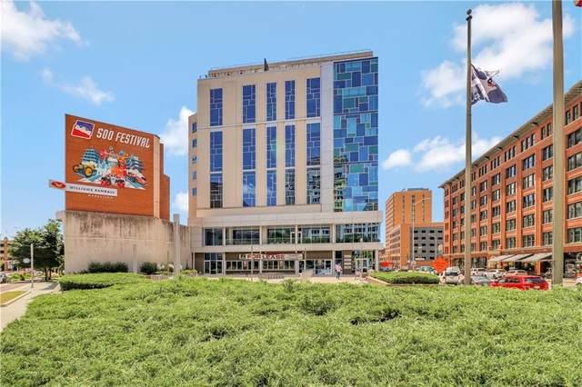 1 Virginia Avenue #703, Indianapolis, IN 46204 (MLS #21794912) :: The Evelo Team