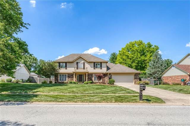 166 Wellington Parkway, Noblesville, IN 46060 (MLS #21794924) :: Mike Price Realty Team - RE/MAX Centerstone