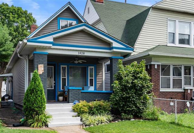 1428 Pleasant Street, Indianapolis, IN 46203 (MLS #21794955) :: Pennington Realty Team