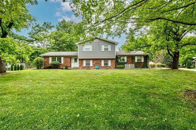7916 Goodway Drive, Indianapolis, IN 46256 (MLS #21795047) :: Mike Price Realty Team - RE/MAX Centerstone