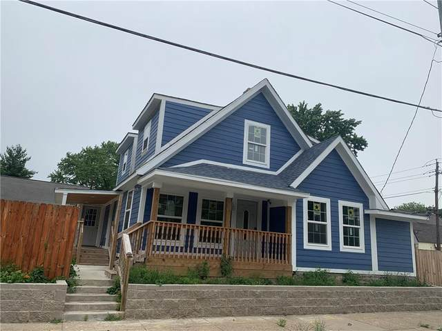 3406 E 20th Street, Indianapolis, IN 46218 (MLS #21795095) :: Pennington Realty Team