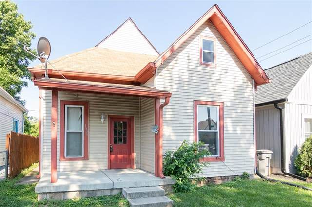 1906 Charles Street, Indianapolis, IN 46225 (MLS #21795119) :: The Evelo Team