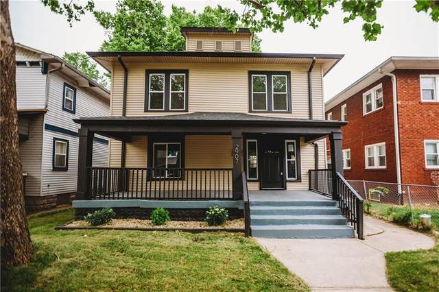 2907 N Delaware Street, Indianapolis, IN 46205 (MLS #21795184) :: The Indy Property Source