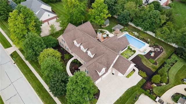 10148 Hickory Ridge Drive, Zionsville, IN 46077 (MLS #21795315) :: Richwine Elite Group