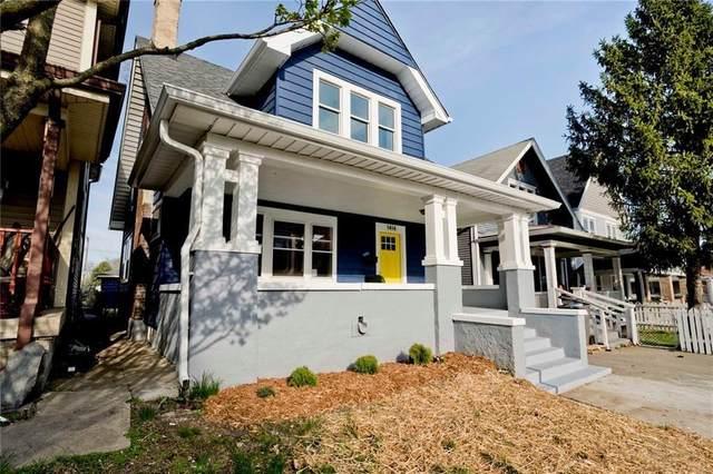1414 Union Street, Indianapolis, IN 46225 (MLS #21795327) :: The Indy Property Source