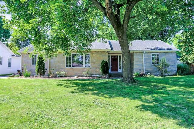 41 Kessler Blvd W Drive, Indianapolis, IN 46208 (MLS #21795333) :: The Evelo Team