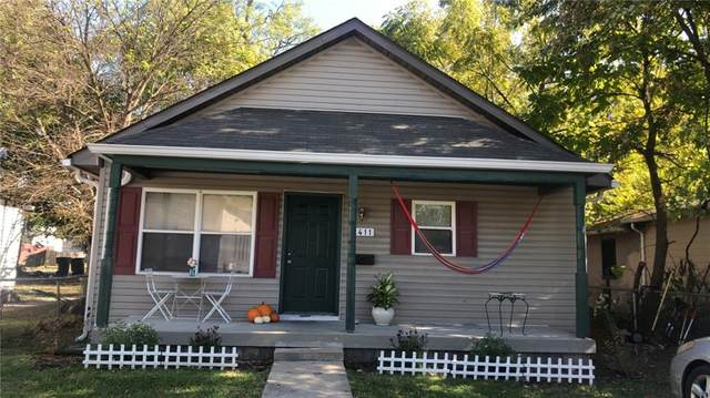 2411 Hovey Street, Indianapolis, IN 46218 (MLS #21795463) :: The Indy Property Source