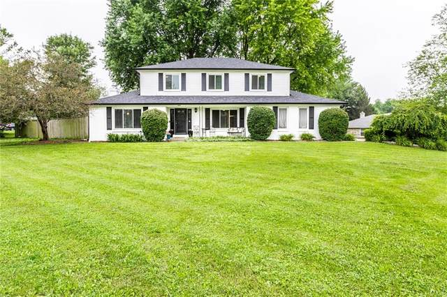 1333 N Greenhills Road, Greenfield, IN 46140 (MLS #21795473) :: Mike Price Realty Team - RE/MAX Centerstone