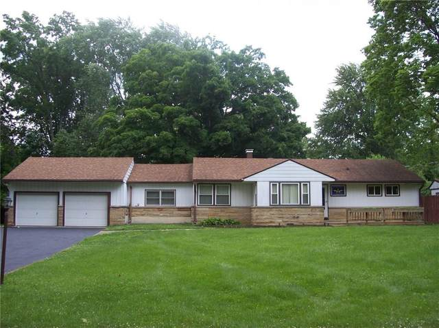 4515 Bonnie Brae Street, Indianapolis, IN 46228 (MLS #21795485) :: The Evelo Team
