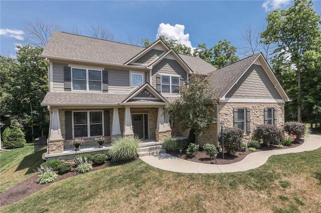 3293 Streamside Drive, Greenwood, IN 46143 (MLS #21795701) :: The Indy Property Source