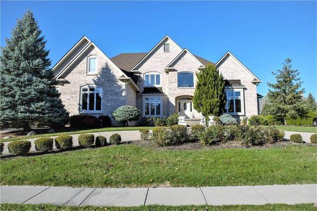 954 Deer Lake Drive, Carmel, IN 46032 (MLS #21795841) :: Anthony Robinson & AMR Real Estate Group LLC