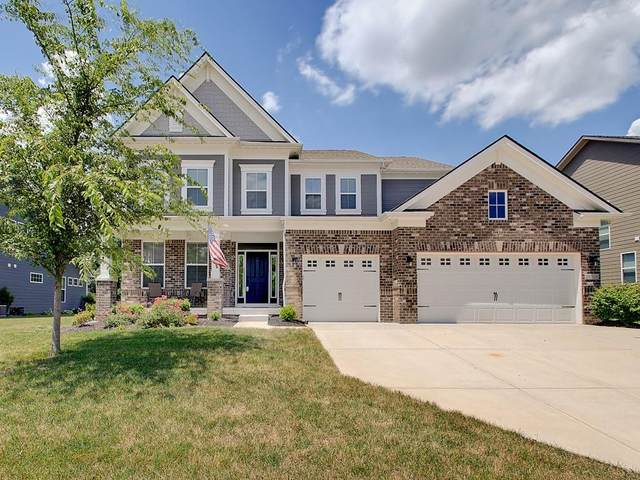10250 Cloverbank Drive, Fishers, IN 46040 (MLS #21795884) :: Mike Price Realty Team - RE/MAX Centerstone
