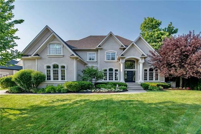 486 Bolderwood Lane, Carmel, IN 46032 (MLS #21795915) :: The Indy Property Source