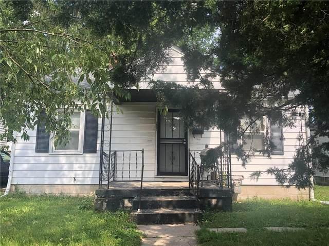 1841 N Warman Avenue, Indianapolis, IN 46222 (MLS #21796002) :: Dean Wagner Realtors
