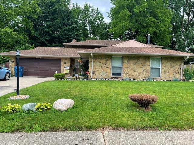 10347 E Lawnhaven Drive, Indianapolis, IN 46229 (MLS #21796204) :: Anthony Robinson & AMR Real Estate Group LLC