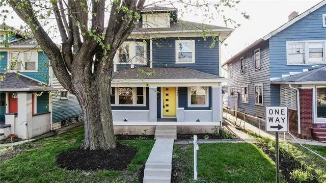 448 N Arsenal Avenue, Indianapolis, IN 46201 (MLS #21796239) :: AR/haus Group Realty