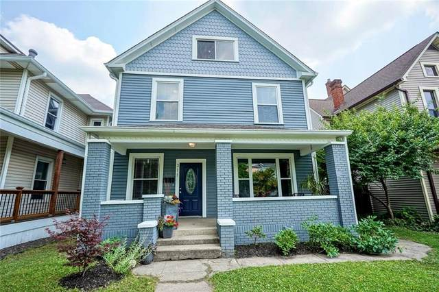 311 N Arsenal Avenue, Indianapolis, IN 46201 (MLS #21796283) :: Mike Price Realty Team - RE/MAX Centerstone