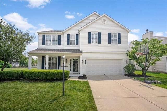 12247 Weathered Edge Drive, Fishers, IN 46037 (MLS #21796320) :: The Indy Property Source