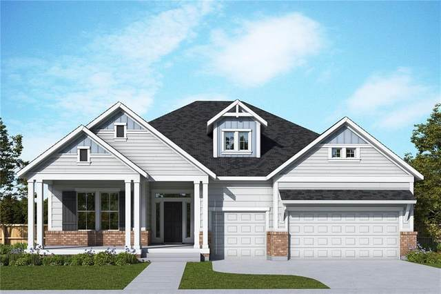 16456 Buck Ridge Lane, Fortville, IN 46040 (MLS #21796332) :: Mike Price Realty Team - RE/MAX Centerstone