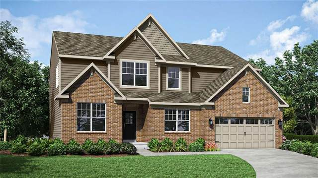2428 S Stonehill Way, New Palestine, IN 46163 (MLS #21796394) :: The Indy Property Source