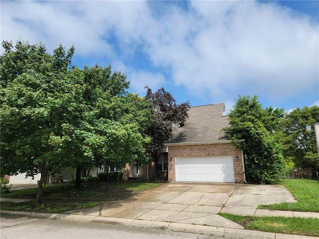 10596 Greenway Drive, Fishers, IN 46037 (MLS #21796408) :: Richwine Elite Group