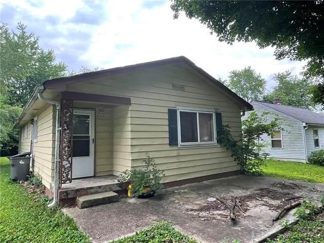 4019 N Elizabeth Street, Indianapolis, IN 46226 (MLS #21796445) :: Pennington Realty Team