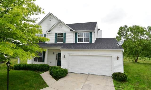 12316 Carriage Stone Drive, Fishers, IN 46037 (MLS #21796500) :: The Indy Property Source