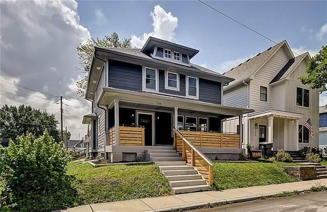 759 Terrace Avenue, Indianapolis, IN 46203 (MLS #21796618) :: Richwine Elite Group