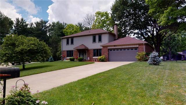 418 Ansley Court, Indianapolis, IN 46234 (MLS #21796638) :: Mike Price Realty Team - RE/MAX Centerstone
