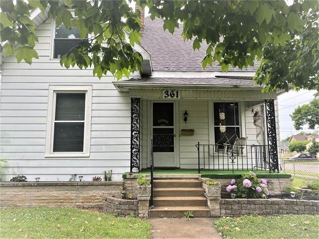 361 E Sherman Street, Marion, IN 46952 (MLS #21796669) :: David Brenton's Team