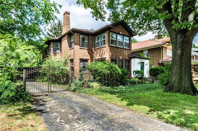 4036 Central Avenue, Indianapolis, IN 46205 (MLS #21796672) :: Anthony Robinson & AMR Real Estate Group LLC