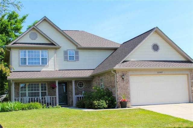 12507 Wolford Drive, Fishers, IN 46038 (MLS #21796797) :: Mike Price Realty Team - RE/MAX Centerstone