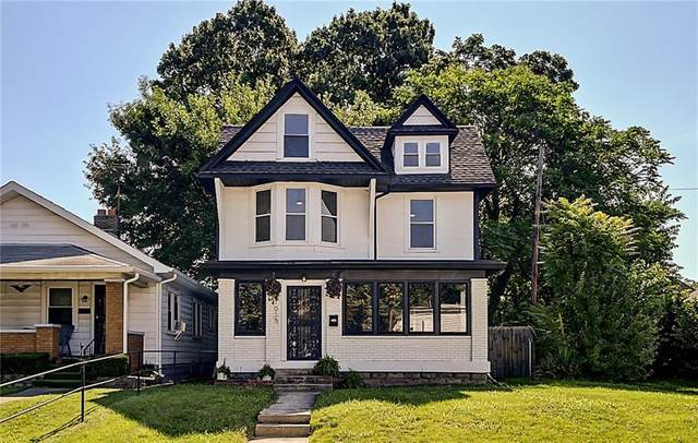1015 N Tacoma Avenue, Indianapolis, IN 46201 (MLS #21796828) :: Pennington Realty Team