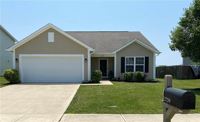 2739 Winding Creek Lane, Greenfield, IN 46140 (MLS #21796865) :: Mike Price Realty Team - RE/MAX Centerstone