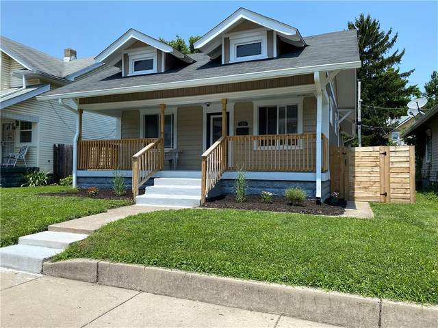 328 W 39th Street, Indianapolis, IN 46208 (MLS #21796870) :: Pennington Realty Team