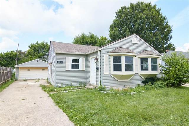 5472 E 18TH Street, Indianapolis, IN 46218 (MLS #21796879) :: Dean Wagner Realtors