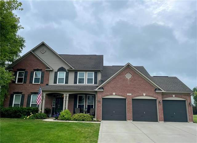 889 S Raylee Garden Drive S, New Palestine, IN 46163 (MLS #21796917) :: The Indy Property Source