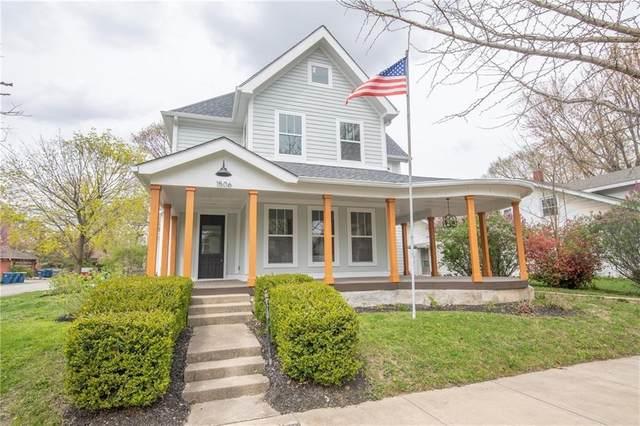1506 Logan Street, Noblesville, IN 46060 (MLS #21796982) :: Dean Wagner Realtors