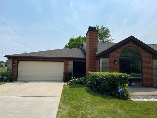 2111 Emily Drive, Indianapolis, IN 46260 (MLS #21796985) :: Dean Wagner Realtors