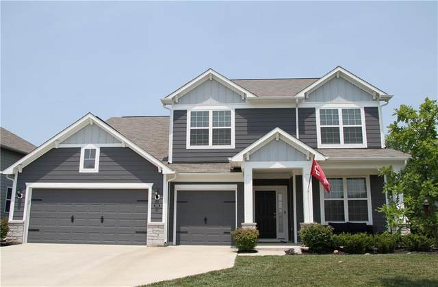5746 Pennycress Drive, Noblesville, IN 46062 (MLS #21797156) :: Mike Price Realty Team - RE/MAX Centerstone